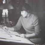 Rimma Iunosheva, mia madre, nel suo studio